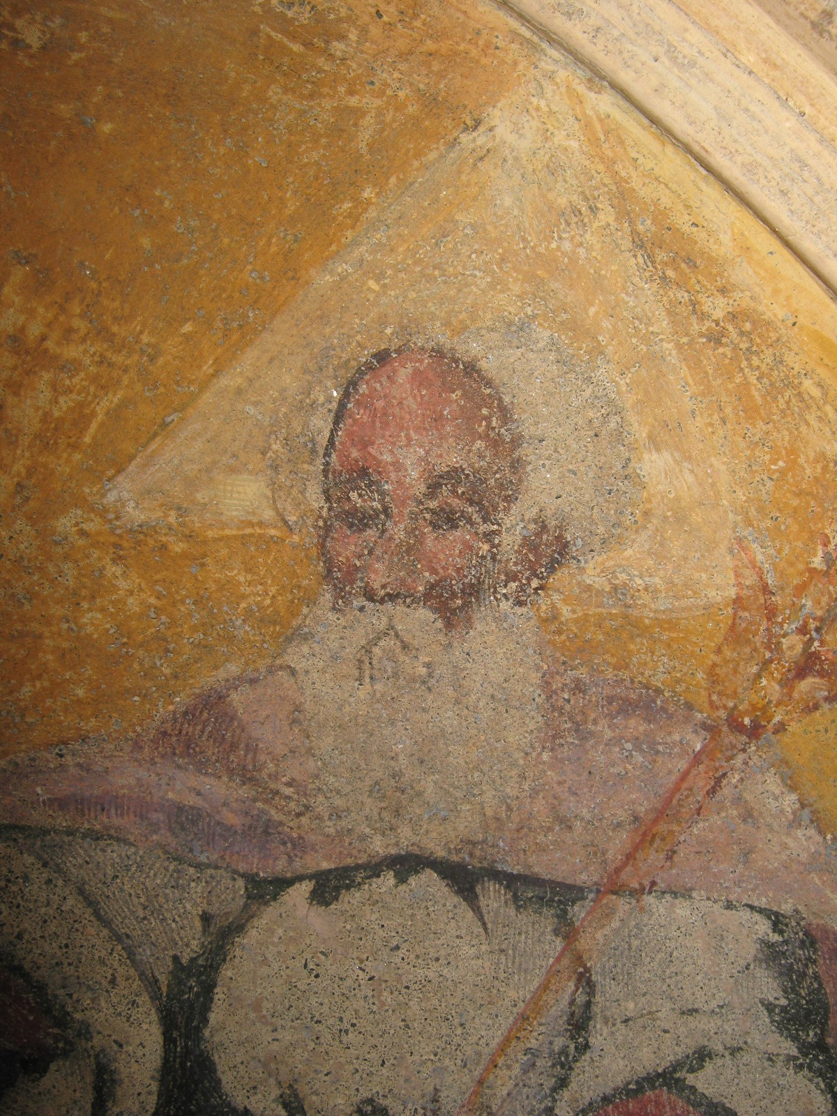 Part, Padre Eterno, Affresco Casa Privata Bormio (SO)